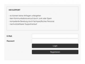 Support-Modul Mitarbeiter-Modul