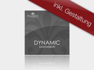 Immobilienwebsite Designsoftware DYNAMIC inkl. Gestaltung